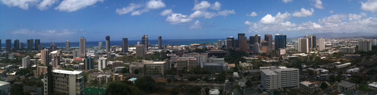 Image Downtown Honolulu
